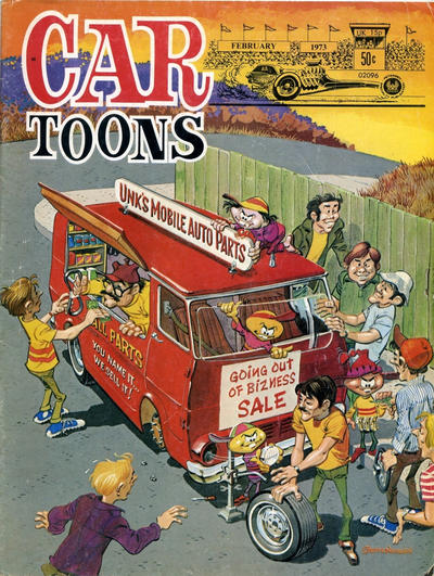 Cover for CARtoons (Petersen Publishing, 1961 series) #69