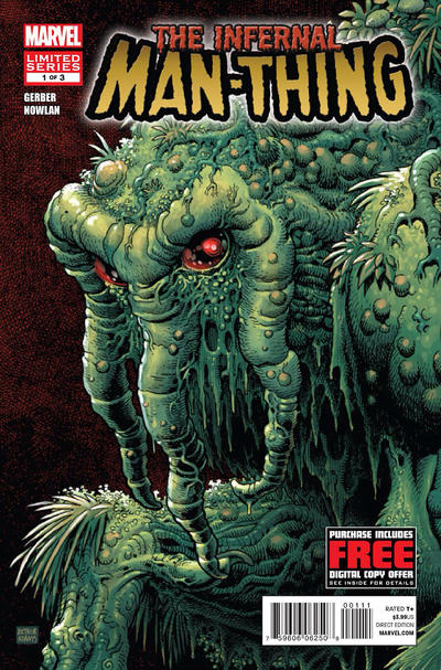 Cover for Infernal Man-Thing (Marvel, 2012 series) #1 [Incentive Gil Kane Variant Cover ]
