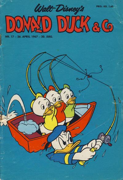 Cover for Donald Duck & Co (Hjemmet / Egmont, 1948 series) #17/1967