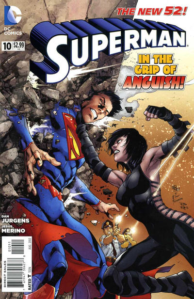 Cover for Superman (DC, 2011 series) #10