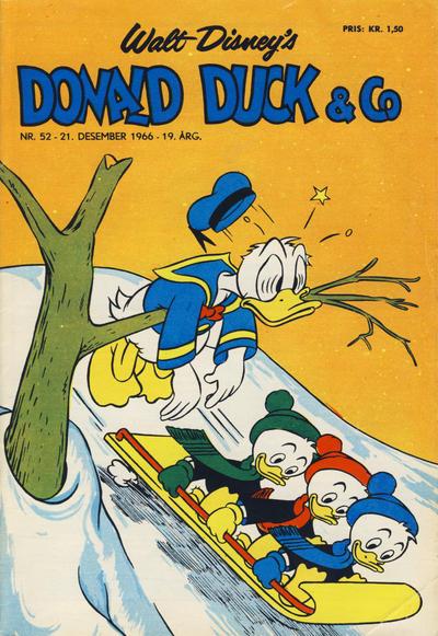 Cover for Donald Duck & Co (Hjemmet / Egmont, 1948 series) #52/1966