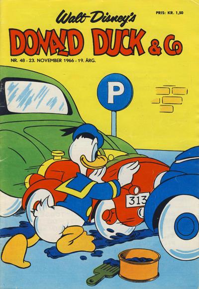 Cover for Donald Duck & Co (Hjemmet / Egmont, 1948 series) #48/1966