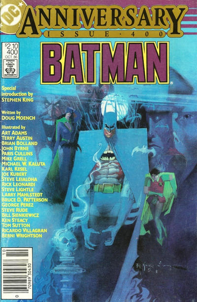 Cover for Batman (DC, 1940 series) #400
