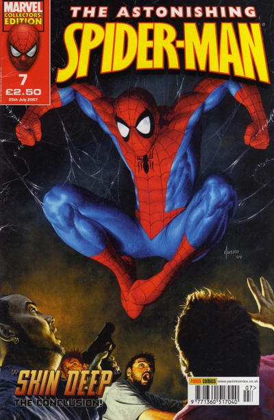 Cover for The Astonishing Spider-Man (Panini UK, 2007 series) #7