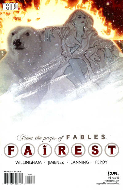 Cover for Fairest (DC, 2012 series) #5