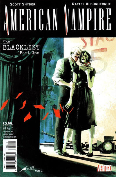 Cover for American Vampire (DC, 2010 series) #28 [Variant Cover by Greg Capullo]