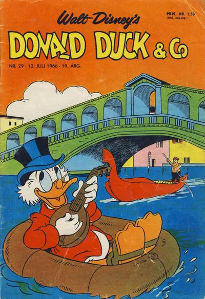 Cover for Donald Duck & Co (Hjemmet / Egmont, 1948 series) #29/1966