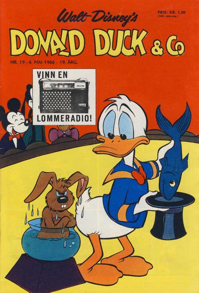 Cover for Donald Duck & Co (Hjemmet / Egmont, 1948 series) #19/1966