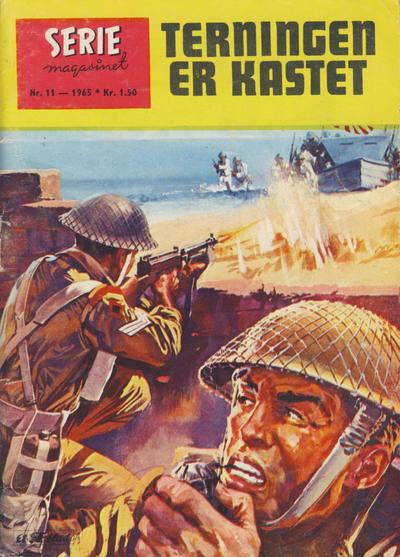 Cover for Seriemagasinet (Serieforlaget / Se-Bladene / Stabenfeldt, 1951 series) #11/1965