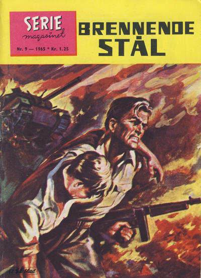 Cover for Seriemagasinet (Serieforlaget / Se-Bladene / Stabenfeldt, 1951 series) #9/1965