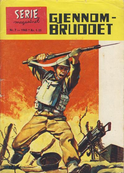 Cover for Seriemagasinet (Serieforlaget / Se-Bladene / Stabenfeldt, 1951 series) #7/1965