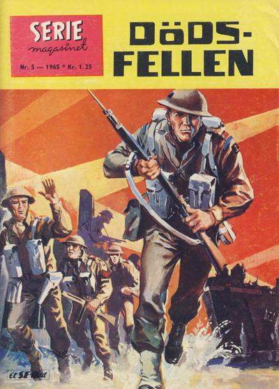 Cover for Seriemagasinet (Serieforlaget / Se-Bladene / Stabenfeldt, 1951 series) #5/1965