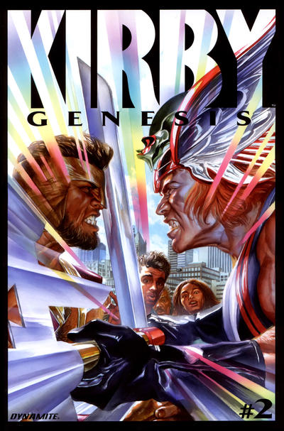 Cover for Kirby: Genesis (Dynamite Entertainment, 2011 series) #2 [Cover A Alex Ross]