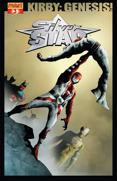 Cover for Kirby: Genesis - Silver Star (Dynamite Entertainment, 2011 series) #3 [Mark Buckingham]