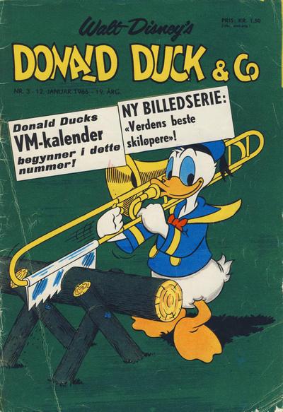 Cover for Donald Duck & Co (Hjemmet / Egmont, 1948 series) #3/1966
