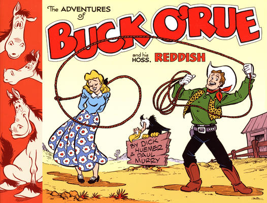 Cover for The Adventures of Buck O'Rue and His Hoss, Reddish (Classic Comics Press, 2012 series) #[nn]
