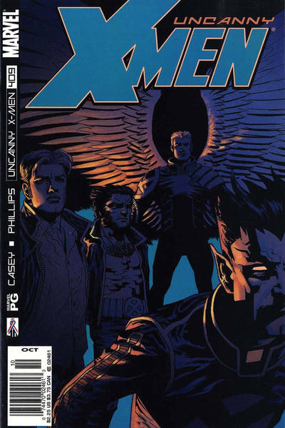 Cover for The Uncanny X-Men (Marvel, 1981 series) #409 [Direct Edition]
