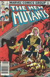 Cover for The New Mutants (Marvel, 1983 series) #4 [Canadian Newsstand Edition]