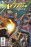 Cover for Action Comics (DC, 2011 series) #10 [Bryan Hitch Variant Cover]