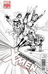 Cover for Astonishing X-Men (Marvel, 2004 series) #50 [Sketch Variant Cover by John Cassaday]