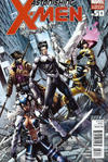 Cover for Astonishing X-Men (Marvel, 2004 series) #50 [Second Printing Cover by Dustin Weaver]