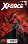 Cover for Uncanny X-Force (Marvel, 2010 series) #27