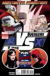 Cover for AVX Vs (Marvel, 2012 series) #4 [Variant Cover by Kaare Andrews]