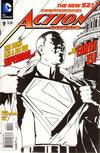 Cover for Action Comics (DC, 2011 series) #9 [Gene Ha Black & White Cover]