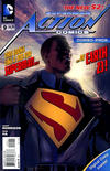 Cover for Action Comics (DC, 2011 series) #9 [Combo-Pack]