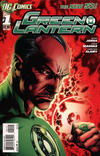 Cover Thumbnail for Green Lantern (2011 series) #1 [2nd Printing - Red Background]