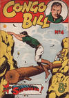 Cover for The Adventures of Congo Bill (K. G. Murray, 1954 series) #4