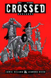 Cover for Crossed Badlands (Avatar Press, 2012 series) #9 [Incentive Red Crossed Cover - Jacen Burrows]