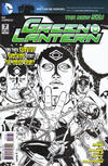 Cover for Green Lantern (DC, 2011 series) #7 [Doug Mahnke Black & White Cover]