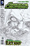 Cover Thumbnail for Green Lantern (2011 series) #9 [Doug Mahnke Sketch Cover]