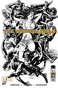 Cover Thumbnail for The Walking Dead (Image, 2003 series) #94 [Image Expo sketch variant]