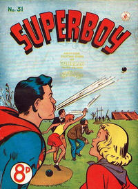 Cover Thumbnail for Superboy (K. G. Murray, 1949 series) #31