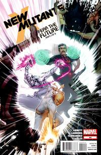 Cover Thumbnail for New Mutants (Marvel, 2009 series) #44