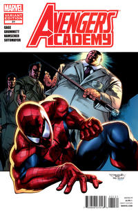 Cover Thumbnail for Avengers Academy (Marvel, 2010 series) #31 [Amazing Spider-Man In Motion Variant Cover by Stephen Segovia]