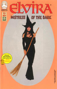 Cover Thumbnail for Elvira, Mistress of the Dark (Claypool Comics, 1993 series) #151