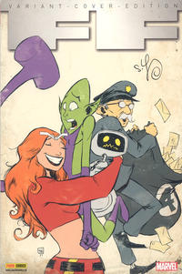 Cover for FF (Panini Deutschland, 2012 series) #2 - Der Supremor-Same [Variant-Cover-Edition]
