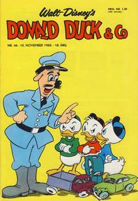 Cover for Donald Duck & Co (Hjemmet / Egmont, 1948 series) #46/1965