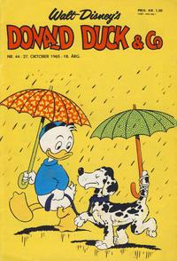 Cover Thumbnail for Donald Duck & Co (Hjemmet / Egmont, 1948 series) #44/1965