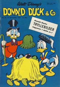Cover Thumbnail for Donald Duck & Co (Hjemmet / Egmont, 1948 series) #38/1965