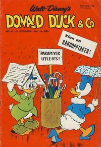 Cover Thumbnail for Donald Duck & Co (Hjemmet / Egmont, 1948 series) #40/1965