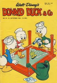 Cover Thumbnail for Donald Duck & Co (Hjemmet / Egmont, 1948 series) #39/1965