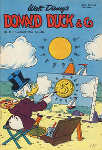 Cover Thumbnail for Donald Duck & Co (Hjemmet / Egmont, 1948 series) #33/1965