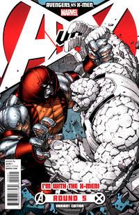 Cover Thumbnail for Avengers vs. X-Men (Marvel, 2012 series) #5 [Team X-Men Variant Cover by Dale Keown]