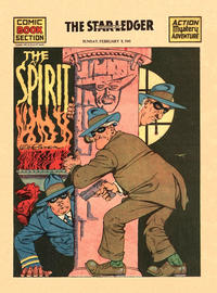 Cover Thumbnail for The Spirit (Register and Tribune Syndicate, 1940 series) #2/9/1941