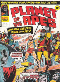 Cover Thumbnail for Planet of the Apes (Marvel UK, 1974 series) #86