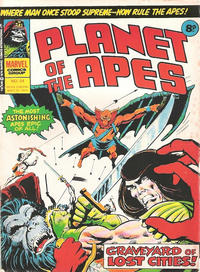 Cover Thumbnail for Planet of the Apes (Marvel UK, 1974 series) #84